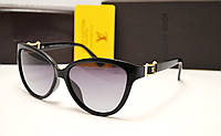 Женские солнцезащитные очки Louis Vuitton 6112 черный цвет