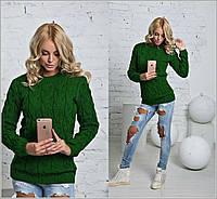 Женский свитер с косами Турция
