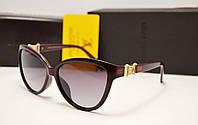 Женские солнцезащитные очки Louis Vuitton 6112 вишневый цвет