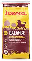 Корм Josera Balance для пожилых собак и собак с излишним весом. Упаковка 15 кг