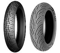 Мотошины Michelin Pilot Road 4 GT 120/70R17 58W (Моторезина 120 70 17, мото шины r17 120 70)