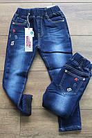 Утепленные джинсы на флисе для девочек 2 года
