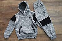 Утепленный спортивный костюм с начесом 4- 6 лет
