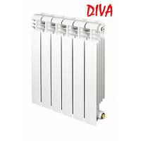 Биметаллический радиатор отопления DIVA 500/96  (Украина)
