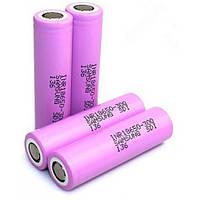 Samsung INR18650-30Q 3000 mAh (до 30А) - высокотоковый аккумулятор для электронных сигарет. Оригинал