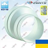 Редуктор-эксцентрик вентиляционный круглый (ассиметричный), фото 4