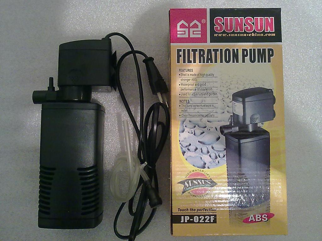 Аквариумный фильтр SuNSuN JP-022F(600л/ч).
