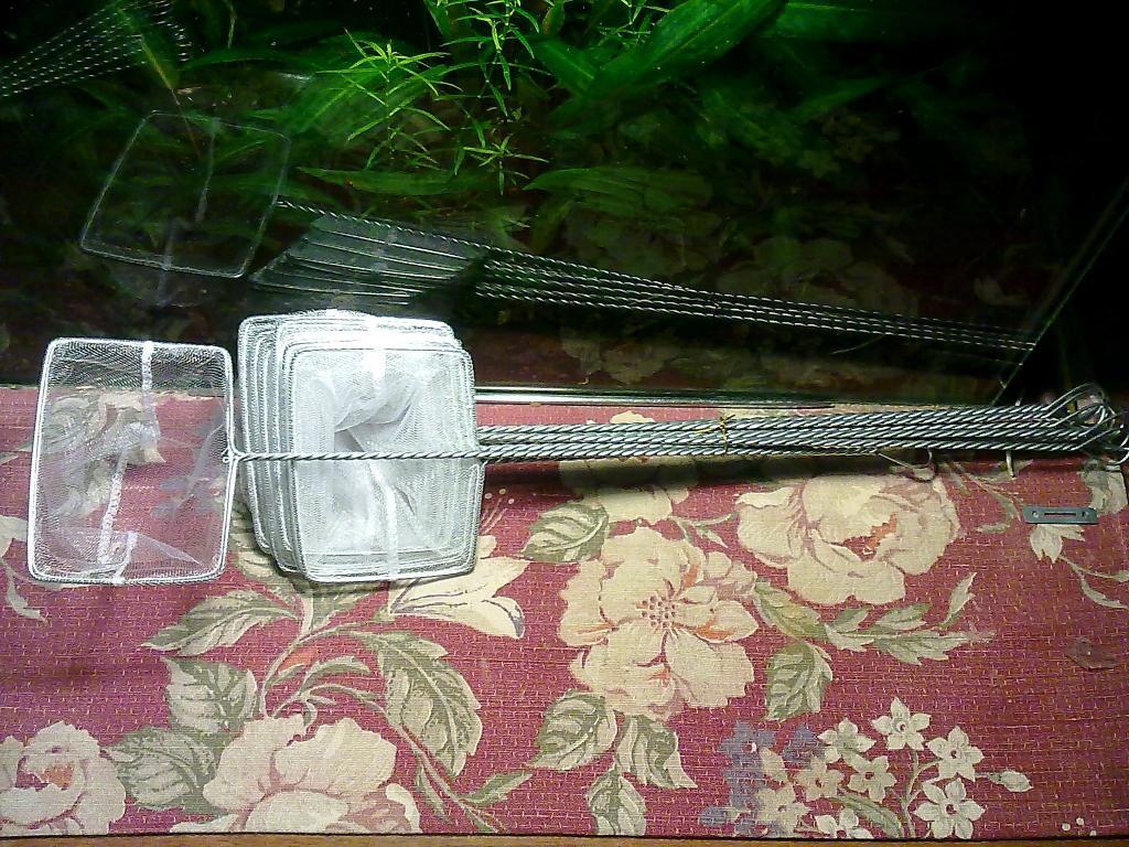 Аквариумный сачек УКРАИНА-5 (10х13см.)