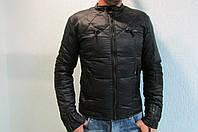 Мужская спортивная куртка Adidas PORSHE DESIGN 25599 черная код 206б