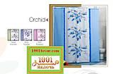 """Шторка для ванной комнаты """"Orchid"""", Miranda. Производство Турция, фото 2"""