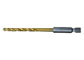 Сверло по металлу, 10,0 мм, HSS, нитридтитановое покрытие, 6-гранный хвостовик MATRIX - Интернет магазин ''Опторг'' в Полтаве