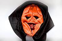Маска Тыквы с накидкой - маска на хэллоуин!