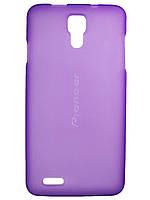 Чехол для Prestigio MultiPhone 5044 Duo фиолетовый