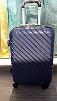 Чемодан Suitcase 1565 NAVY из поликарбоната маленький!