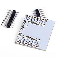 Плата адаптер для ESP8266 WIFI модулей ESP-07 ESP-08 ESP-12