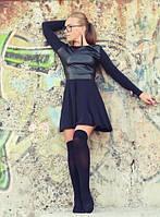Платье черное Санни