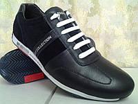 Стильные синие кроссовки на шнурках Madoks