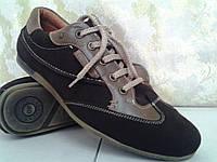 Замшевые кроссовки на шнурках Madoks
