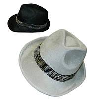 Шляпа Мужская велюровая