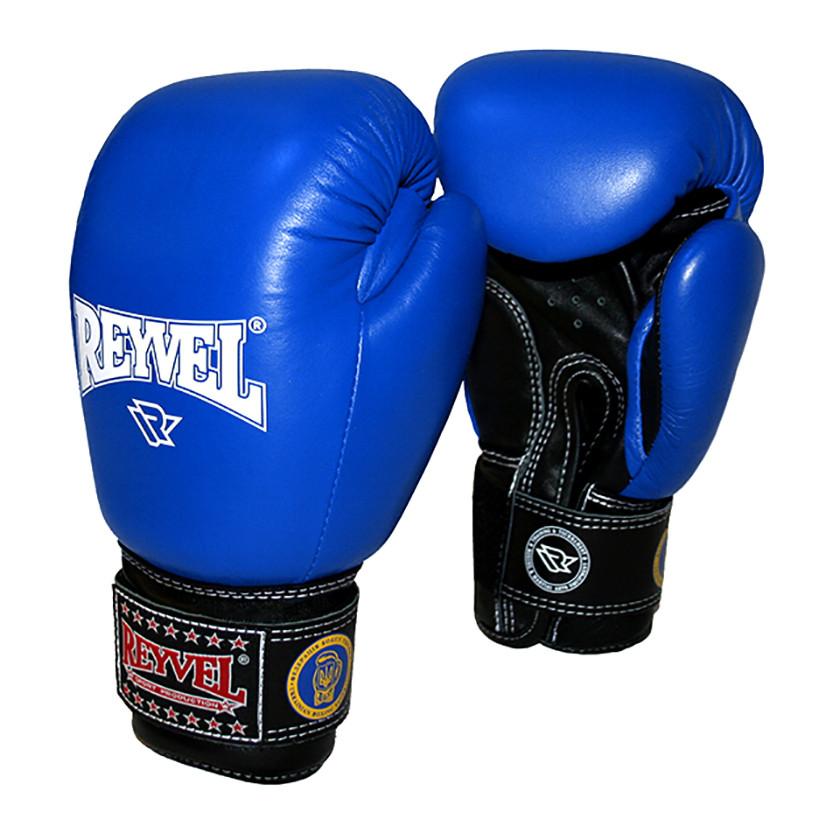 Перчатки боксерские ФБУ REYVEL кожа 10 oz