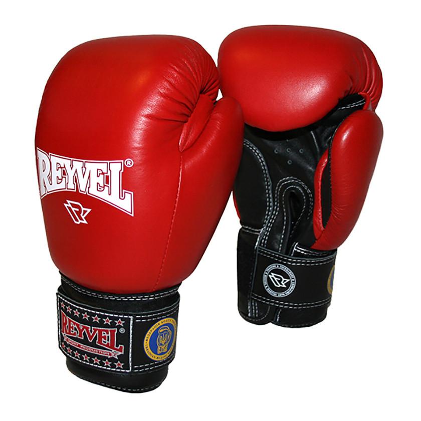Перчатки боксерские ФБУ REYVEL кожа 12 oz