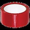 Скотч кольоровий (червоний) 45 мм