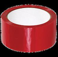 Скотч кольоровий (червоний) 45 мм, фото 1