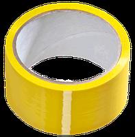 Скотч кольоровий (жовтий) 45 мм, фото 1