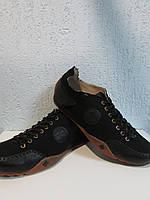 Мужские спортивные туфли Dr.Martens черные (48) код 852А