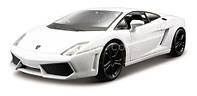 Автомодель LAMBORGHINI GALLARDO LP560-4 2008 белый,  светло-зеленый металлик 1:32 Bburago (18-43020)