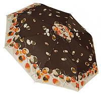 Модный женский зонт автомат 1127 chocolate