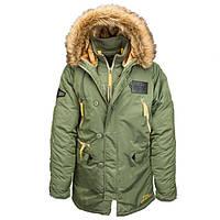 Куртка зимняя Alpha Industries N-3B Inclement Parka