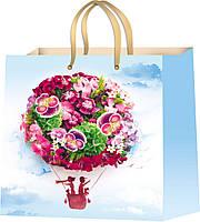 Подарочные пакеты для девушек размер 16 х 16 см (12 шт/уп)