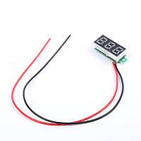 Вольтметр цифровой, 2,7-32 Вольта LED
