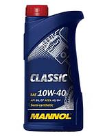 Моторное масло MANNOL 10W40 Classic 1L полусинтетика