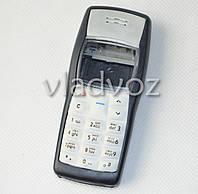 Корпус для Nokia 1100 чёрный + клавиатура русская AAA
