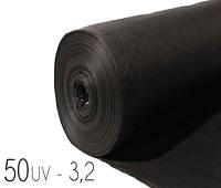 Агроволокно 50 uv - 3,2 × 100 м черное (GEXA)