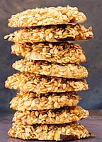 """Кунжутное печенье """"Баразик"""" с орехами, 250 гр"""