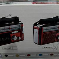 Приемник аккумуляторный с лампой и фонарем COLON RX-382 \ 381