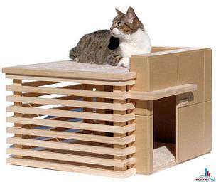 Будиночки і м'які місця для кішок і собак