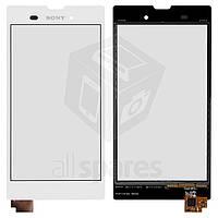 Тачскрин (сенсор) Sony D5102, D5103, D5106 Xperia T3 (White) Original