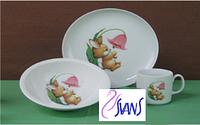Happy Bunny Набор для детей -3 пр Cmielow B122