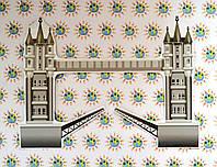 Тауэрский мост. Настенная декорация для кабинета английского языка