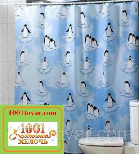 """Шторка для ванной комнаты """"Penguin"""", Miranda. Производство Турция"""