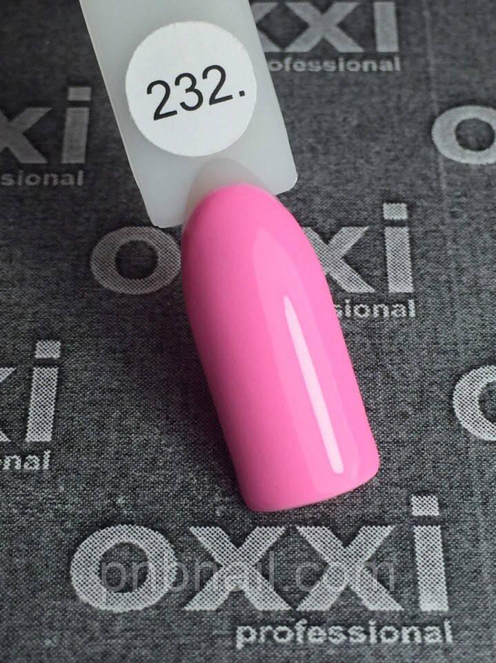 Гель-лак OXXI Professional №232, 8 мл