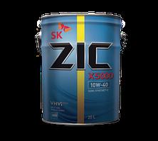 Моторное масло для TIR полусинтетика ZIC X5000 10W40 20L для грузовиков