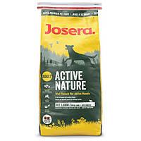 Josera Active Nature Fleisch & Reis (Мясо и Рис) сухой корм для взрослых и активных собак. Упаковка 15 кг