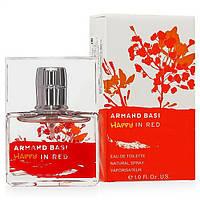 Женская туалетная вода Armand Basi Happy In Red eu de Toilette (EDT) 50ml