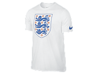 Футболка Nike England Crest Tee Shirt 742201-100
