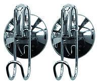 Набор вешалок для полотенец на присоске AWD02090341